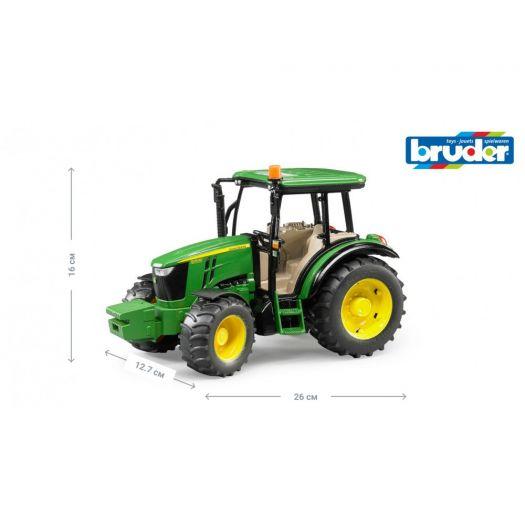 Іграшка Bruder Трактор John Deere 5115M (02106)замовити