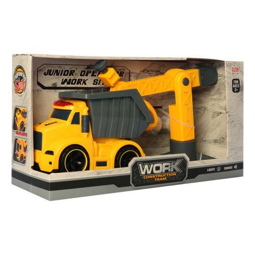Машинка інерційна Construction Series Будтехніка (A6633-21)замовити