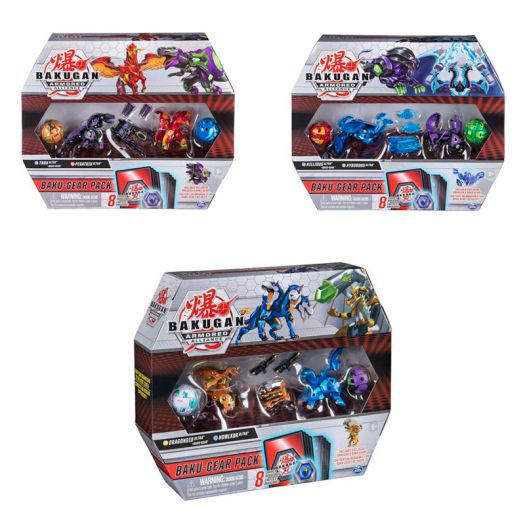 Ігровий набір Spin Master Bakugan Armored Alliance Бойовий з чотирьох бакуганів зі зброєю в асортименті (SM64444)замовити