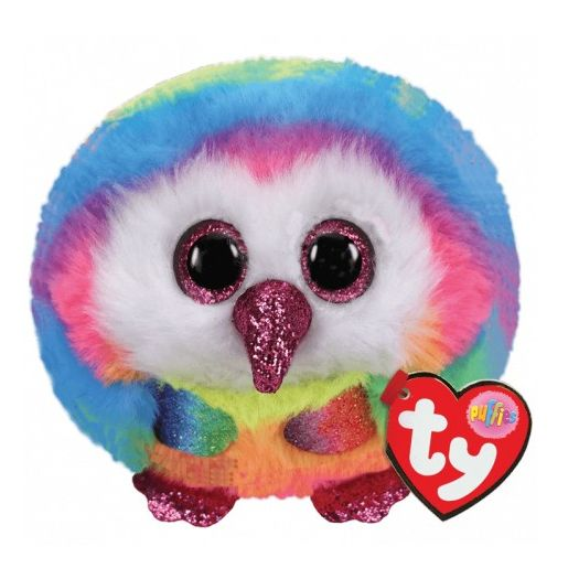 М'яка іграшка TY Puffies Різнокольорова сова TWIGGY (42504)купити