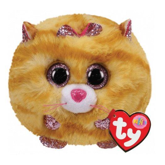 М'яка іграшка TY Puffles Жовтий кошеня TABITHA (42507)в Україні