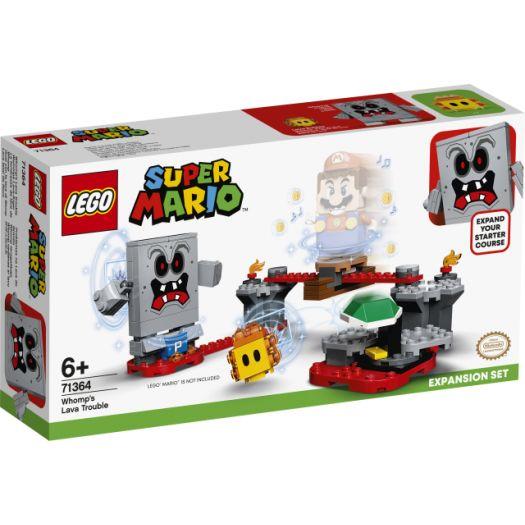 Конструктор LEGO Super Mario Бабах:перешкоди з лавою. Додатковий рівень (71364)замовити