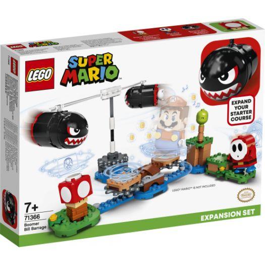 Конструктор LEGO Super Mario Обстріл Білла-Бумера Додатковий рівень (71366)купити