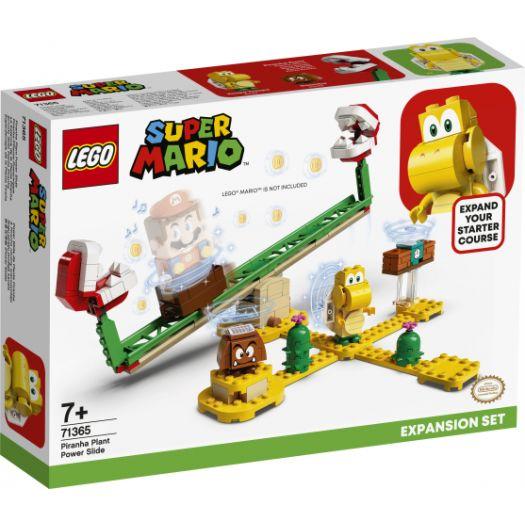 Конструктор LEGO Super Mario Дрифт-заїзд із рослиною-піраньєю. Додатковий рівень (71365)купити