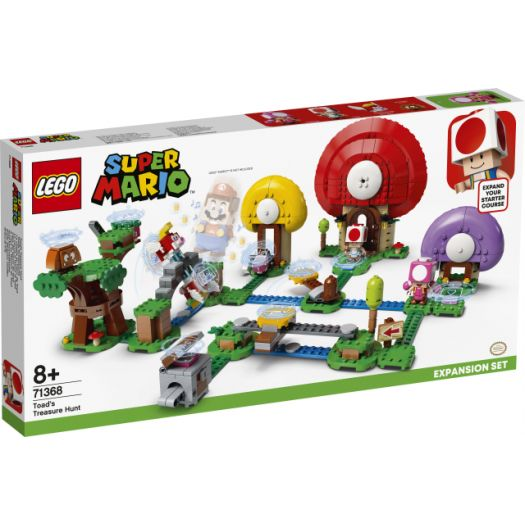 Конструктор LEGO Super Mario Пошук скарбів з Тоадом. Додатковий рівень (71368)купити