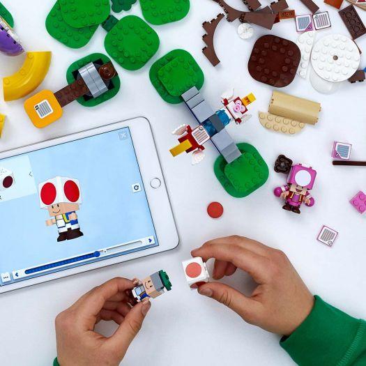 Конструктор LEGO Super Mario Пошук скарбів з Тоадом. Додатковий рівень (71368)в Україні