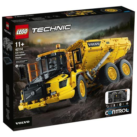 Конструктор LEGO Technic Шарнірний самоскид Volvo A25F 6х6 (42114)купити