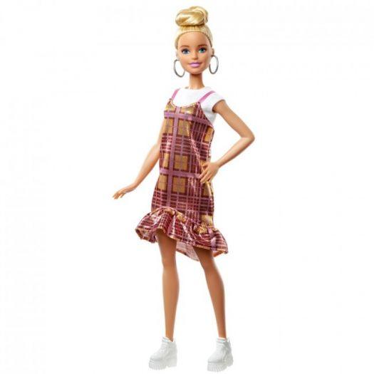 Лялька Barbie Fashionistas у картатому сарафані (GHW56)купити