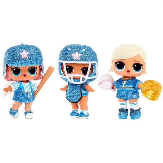 Ігровий набір з лялькою LOL SURPRISE! серії All-Star B.B.s - СПОРТИВНА КОМАНДА (570363)замовити