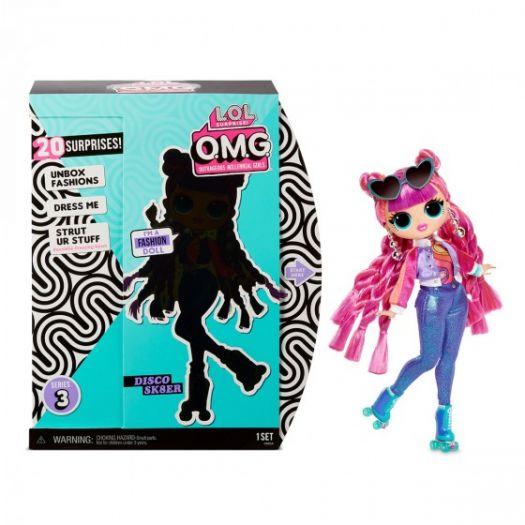 Ігровий набір з лялькою LOL SURPRISE! серії O.M.G S3 - ДИСКО-СКЕЙТЕР (567196)замовити