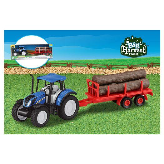 Трактор з причепом Big Harvest Farm (30097A)замовити