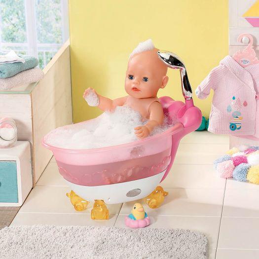 Автоматична ванночка для ляльки BABY BORN - Кумедне купання (828366)в Україні