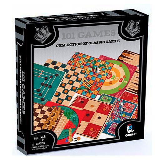 Настільна гра Pip Games 101 гра: шахи, шашки, картки (743)купити