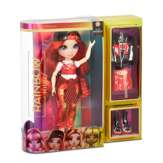 Лялька RAINBOW HIGH – РУБІ (569619)замовити