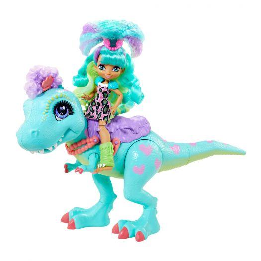 Ляльковий набір CAVE CLUB Прогулянка з динозавром (GTL69)замовити