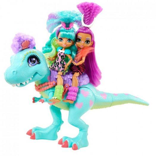 Ляльковий набір CAVE CLUB Прогулянка з динозавром (GTL69)купити