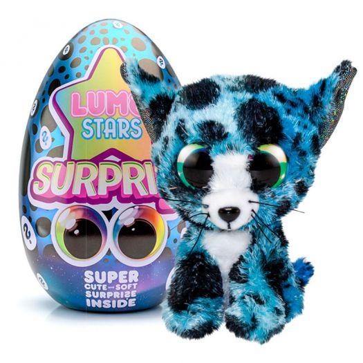 М'яка іграшка Lumo Яйце-сюрприз Кіт Kitty (56157)в Україні