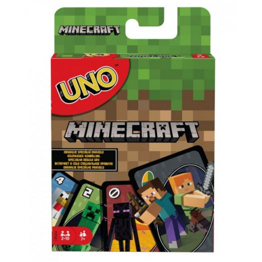 Настільна гра Mattel Games UNO Minecraft (FPD61)в Україні