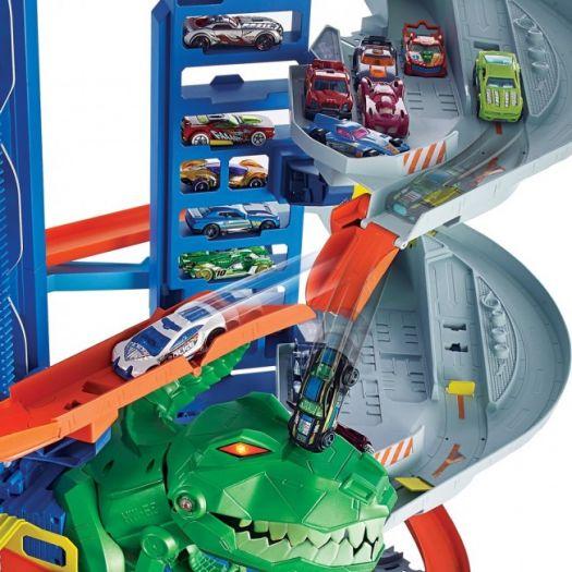 Трек Hot Wheels City Ultimate Garage Легендарний гараж (GJL14)замовити