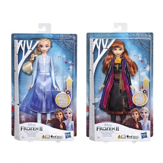 Лялька Frozen 2 Холодне Серце в сукні із світловим ефектом в асортименті (E6952)замовити