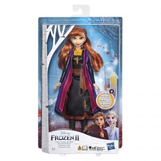 Лялька Frozen 2 Холодне Серце в сукні із світловим ефектом в асортименті (E6952)в Україні