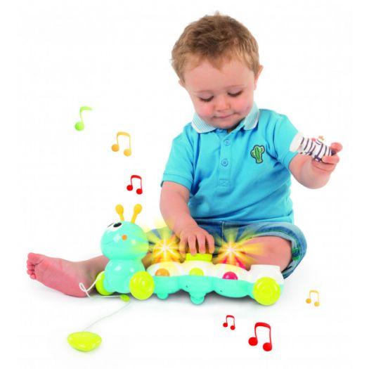Електронна іграшка Cotoons Гусінь зі звуковим та світловим ефектами (110422)замовити