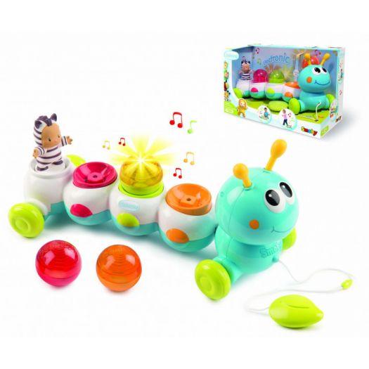 Електронна іграшка Cotoons Гусінь зі звуковим та світловим ефектами (110422)купити