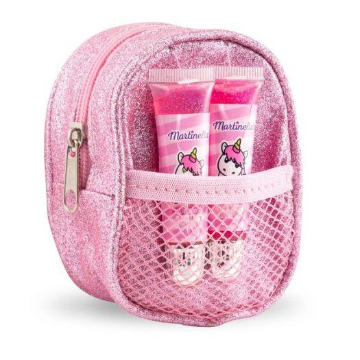MARTINELIA SHIMMER PAWS Набір блисків для губ з сумкою міні (30495)купити