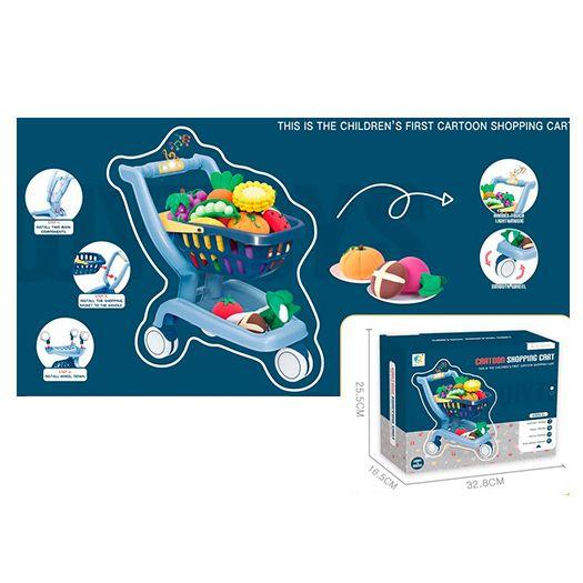 Ігровий набір WY Toys Візок з продуктами (WY395-1)в Україні