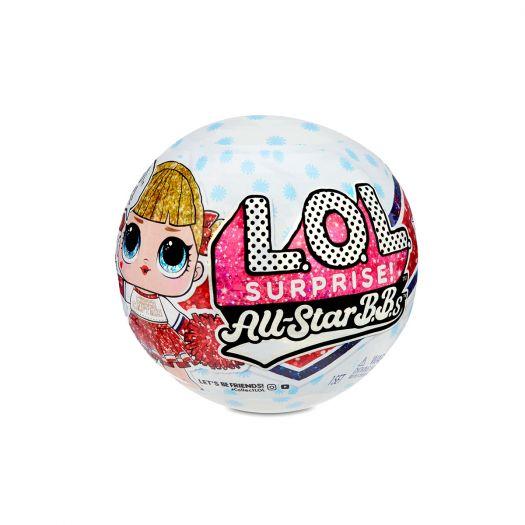 Ігровий набір з лялькою LOL SURPRISE! серії All-Star B.B.s W2 - Спортивна команда в асорт. (570363-W2)в Україні