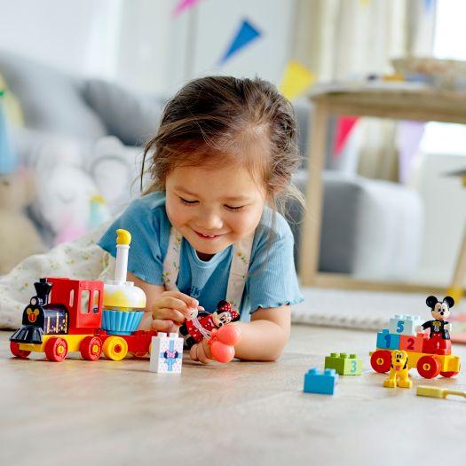 Конструктор LEGO Duplo Святковий потяг Міккі та Мінні (10941)замовити