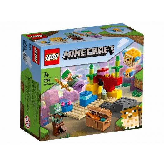 Конструктор LEGO Minecraft Кораловий риф (21164)купити
