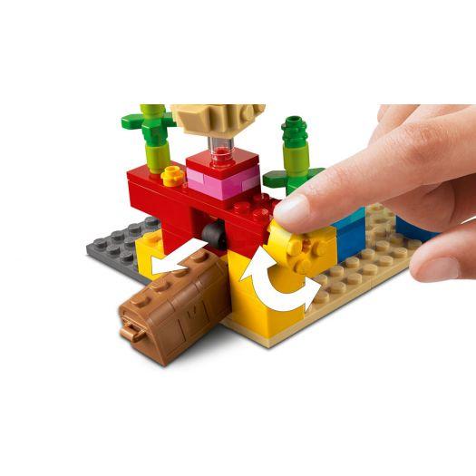 Конструктор LEGO Minecraft Кораловий риф (21164)в Україні