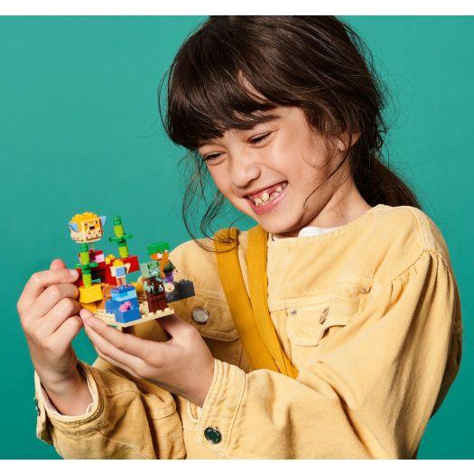 Конструктор LEGO Minecraft Кораловий риф (21164)замовити