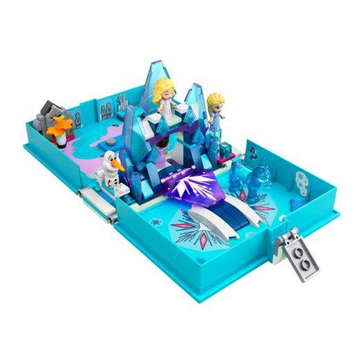 Конструктор LEGO Disney Princess Книга казкових пригод Ельзи і Нока (43189)купити
