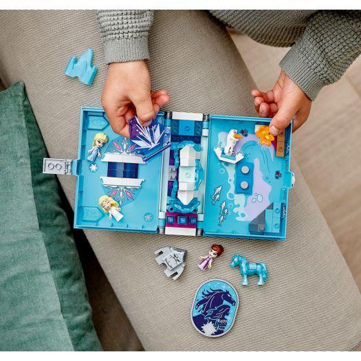Конструктор LEGO Disney Princess Книга казкових пригод Ельзи і Нока (43189)в Україні