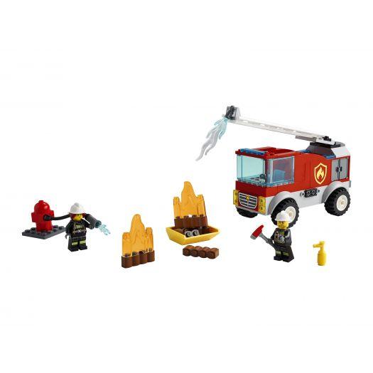 Конструктор LEGO City Пожежна машина з драбиною (60280)купити