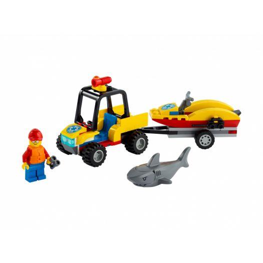 Конструктор LEGO City Всюдихід пляжних рятувальників (60286)в Україні