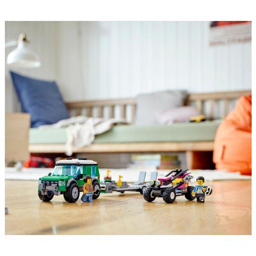 Конструктор LEGO City Транспортер гоночного багі (60288)замовити