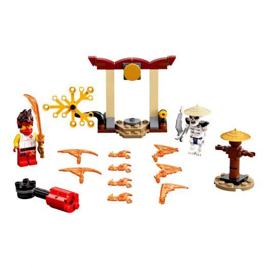 Конструктор LEGO Ninjago Грандіозна битва: Кай проти Скалкіна (71730)замовити