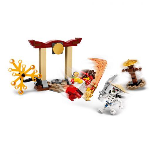 Конструктор LEGO Ninjago Грандіозна битва: Кай проти Скалкіна (71730)купити