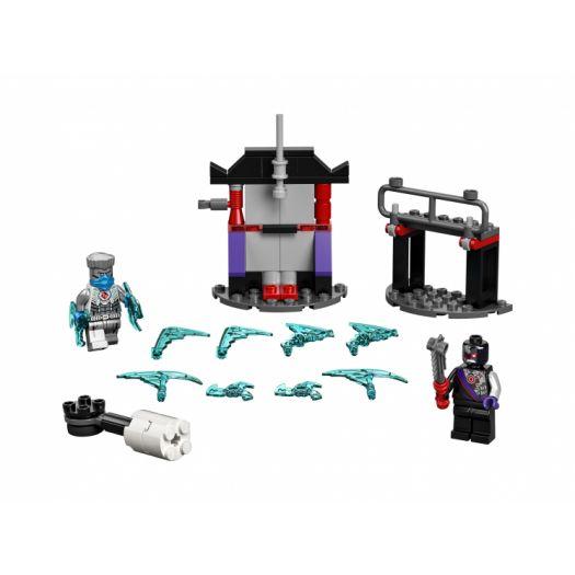 Конструктор LEGO Ninjago Грандіозна битва: Зейн проти Ніндроїда (71731)купити