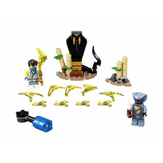 Конструктор LEGO Ninjago Грандіозна битва: Джей проти Змієподібного (71732)замовити
