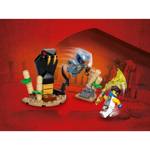 Конструктор LEGO Ninjago Грандіозна битва: Джей проти Змієподібного (71732)купити