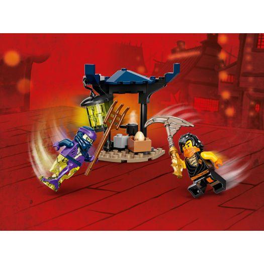 Конструктор LEGO Ninjago Грандіозна битва: Коул проти воїна-привида (71733)в Україні
