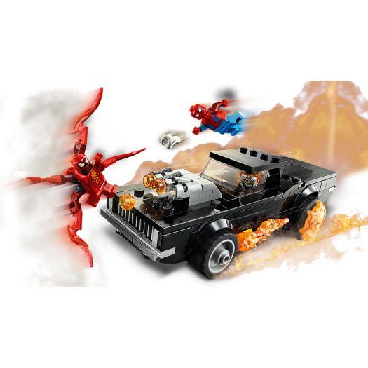 Конструктор LEGO Super Heroes Людина-Павук і Примарний Гонщик проти Карнажа (76173)купити