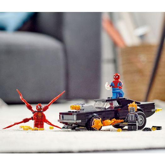 Конструктор LEGO Super Heroes Людина-Павук і Примарний Гонщик проти Карнажа (76173)замовити