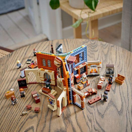 Конструктор LEGO Harry Potter Навчання в Гоґвортсі: Урок заклинань (76385)в Україні