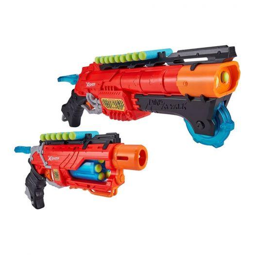 Набір скорострільних бластерів X-Shot DINO Combo Pack (2 середніх яйця, 4 маленьких яйця, 48 патронів) (4859)купити
