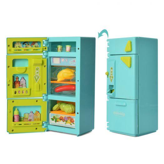Дитячий холодильник Fun toy з продуктами (XS-19006)в Україні